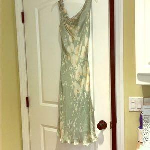 Armani silk dress size 2